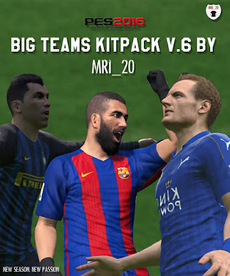 Big Teams 16-17 Kitpack V6 (Final Kitpack)
