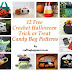 12 Free Crochet Halloween Trick or Treat Candy Bag Patterns