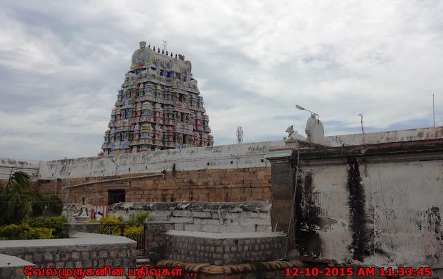 Brahma Temple in Tirupattur