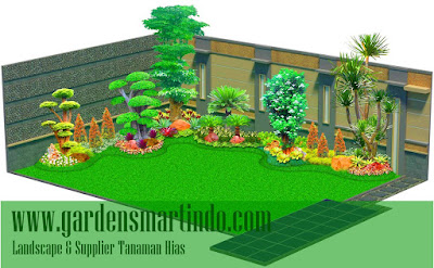 desain taman surabaya