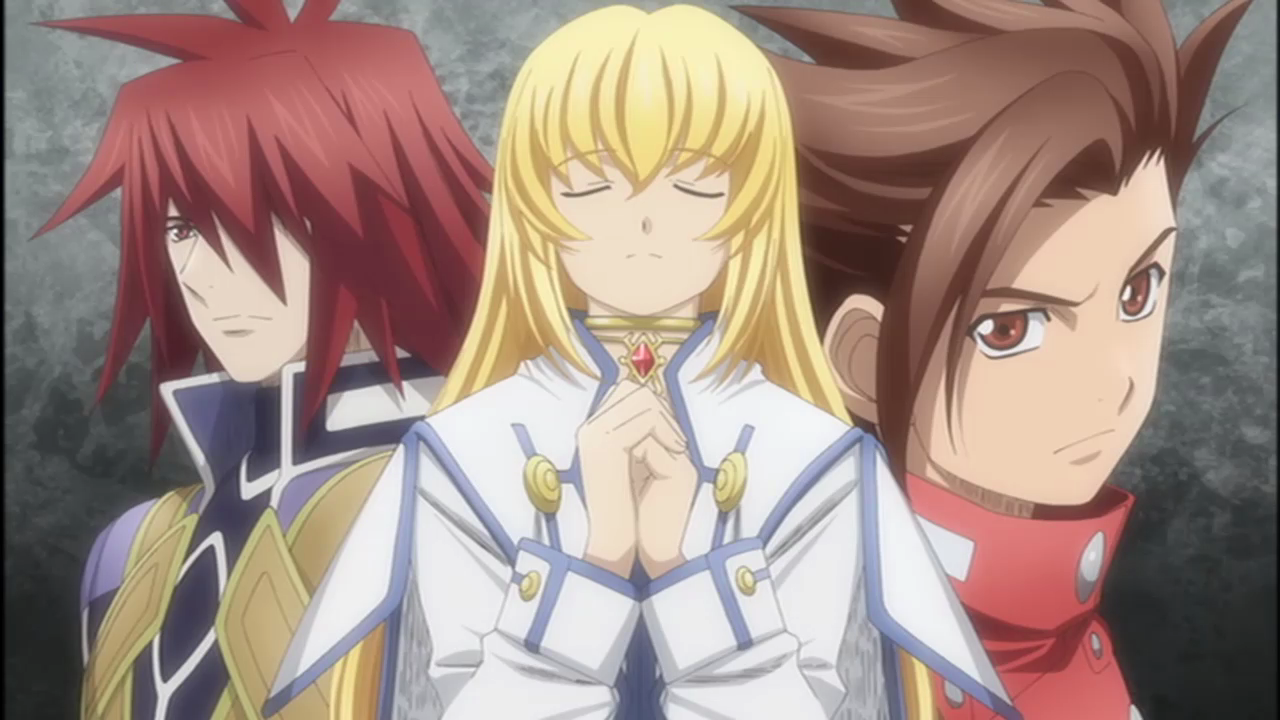 Tales Of Symphonia Anime