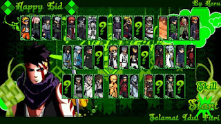 Download Naruto Senki MOD Unlimited Money Skill No Delay Spesial Idul Fitri Full Character Apk Terbaru
