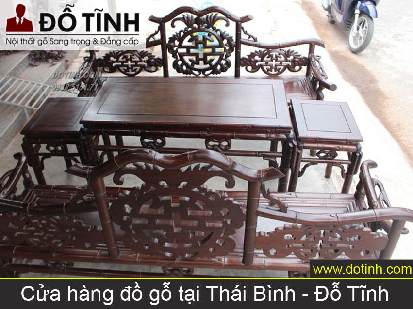 Cửa hàng đồ gỗ tại Thái Bình - Nơi bán trường kỷ gỗ đẹp