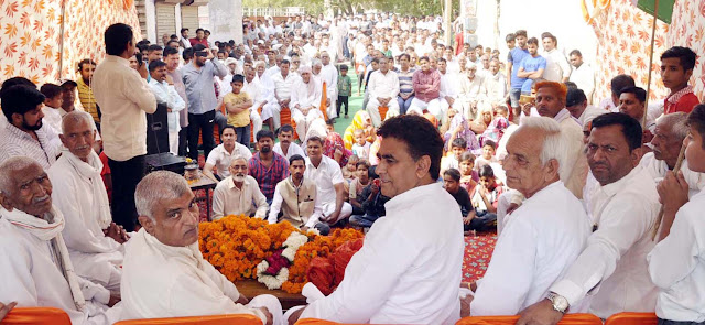 BJP's fall in the public from scams in Manohar government: Lalit Nagar