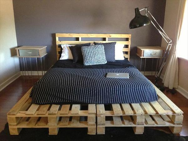 Berbagai inspirasi desain dengan kayu peti kemas bekas