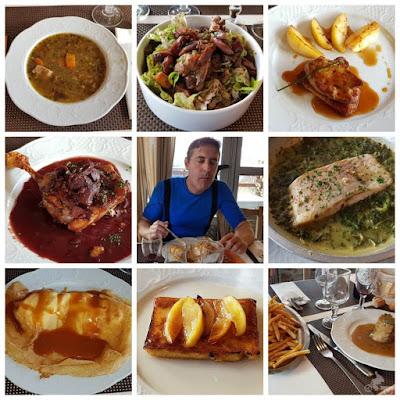 CHALET DE BEAUREGARD  comida restaurante pistas guzet