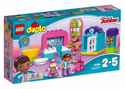 TOYS : JUGUETES - LEGO Duplo  10828 Clinica Veterinaria De La Doctora Juguetes   Doc McStuffins' Pet Vet Care  Producto Oficial Disney 2016 | Piezas: 30 | Edad: 2-5 años  Comprar en Amazon España & buy Amazon USA
