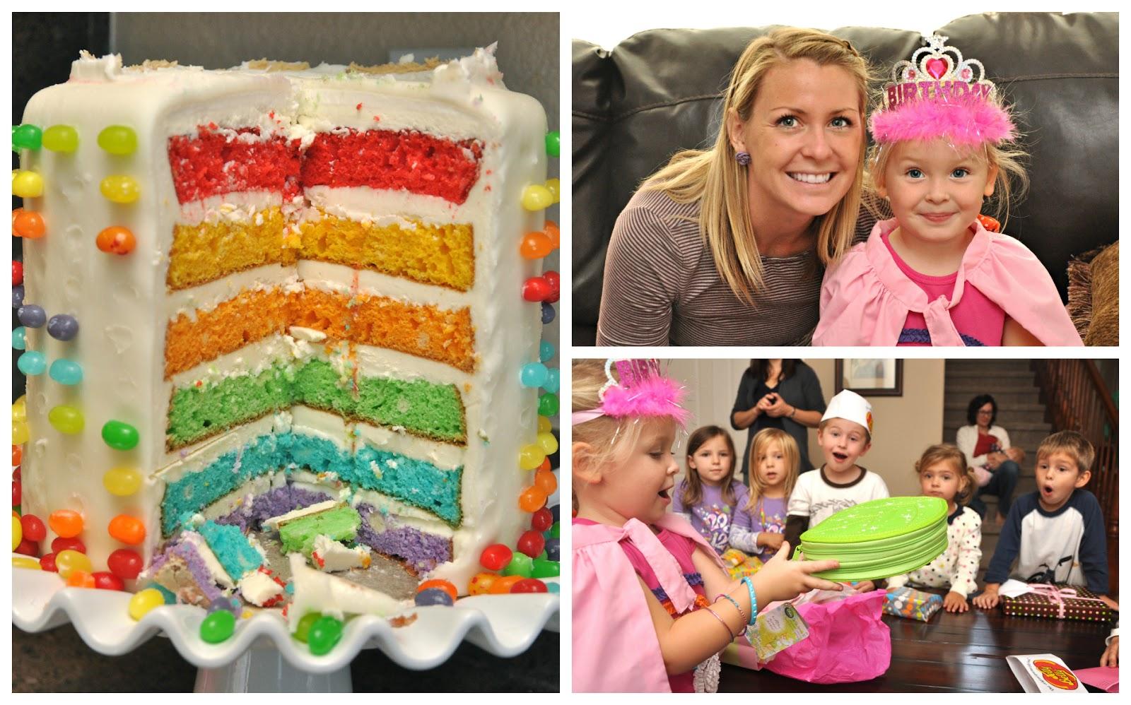 Parties Rainbow Jelly Bean Birthday Party Creative Juice
