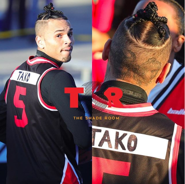 See Chris Brown's new look