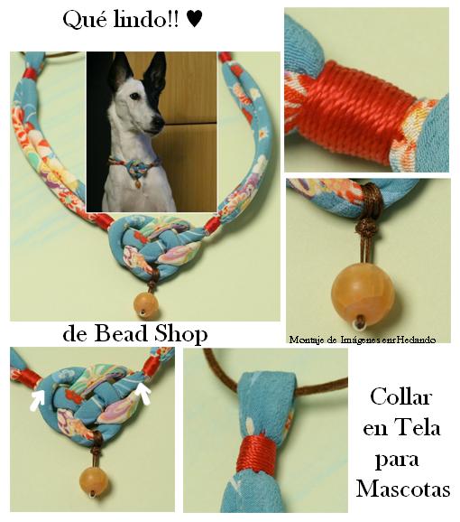 Como hacer un collar y una correa a nuestras mascotas en for Como hacer un collar para perro