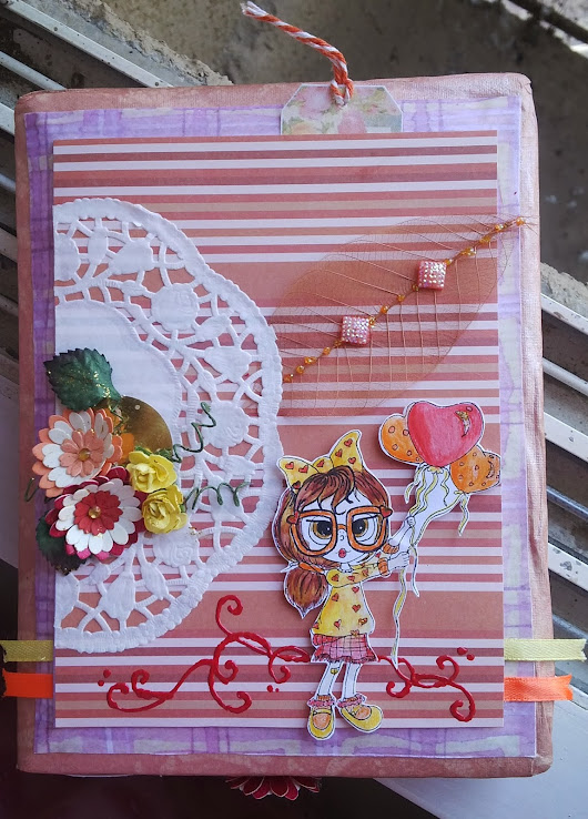 DT Post: Friday Aloha Challenge @ Kitty Bee Designs Blog
