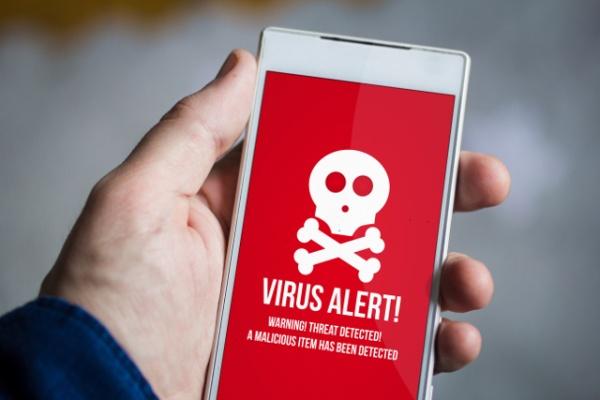 ciri hp android terkena virus