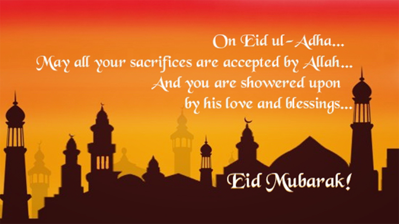 Eid Al Adha Greeting Messages 2018 Eid Ul Adha Greetings Images
