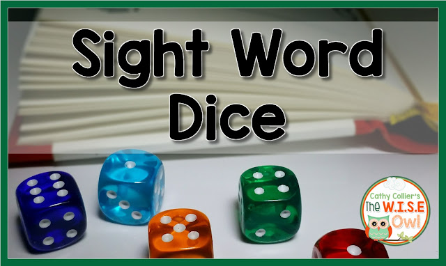 Want a fun sight word activity? Grab a die and a list of easily confused words and watch the learning (and the laughing.)