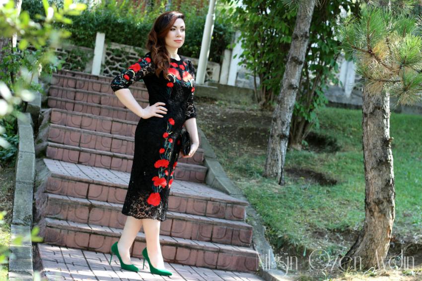 www.nilgunozenaydin.com-dezzal-embriodery lace dress-nakışlı dantel elbise