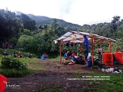 shelter 1 gunung kerinci