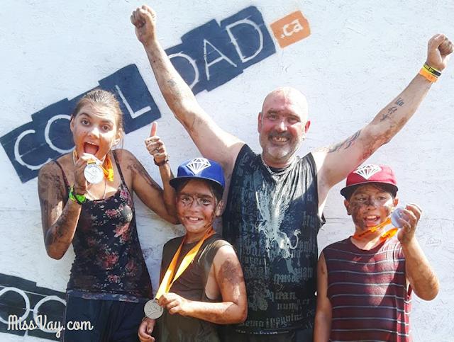 Cool Dad course obstacles Québec activité parents famille enfants père