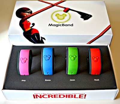 Disney Magic Bands Box TheMagicChannelBlog