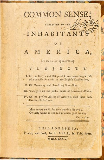 booktryst common sense costs 545 000 in 21st c america