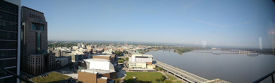 View from the Galt House in Louisville