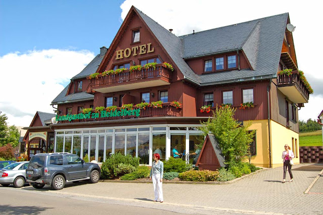 Зайфен (Seiffen), город в Германии, отель