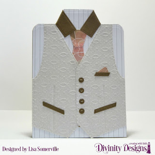 Divinity Designs Custom Dies: Couture Collection, Paper Collections: Beautiful Blooms, Menswear Material