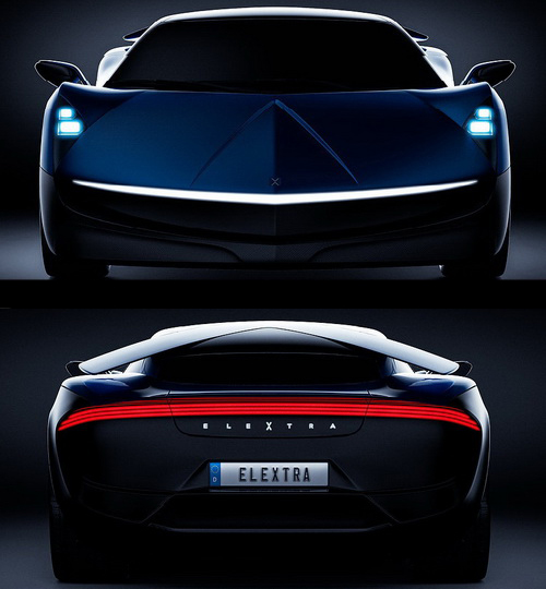 Tinuku.com Poul Sohl and Robert Palm announced Elextra EV supercar in 100 kmh under 2.3 seconds and four-door