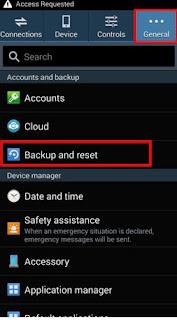 Cara Melakukan Factory Reset di Smartphone Android Samsung 8