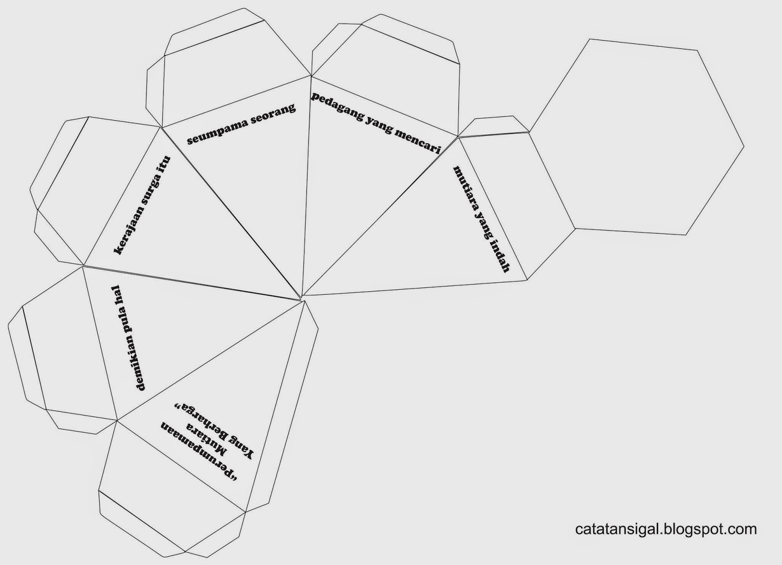 Catatan SiGal: Bahan Kreativitas Sekolah Minggu