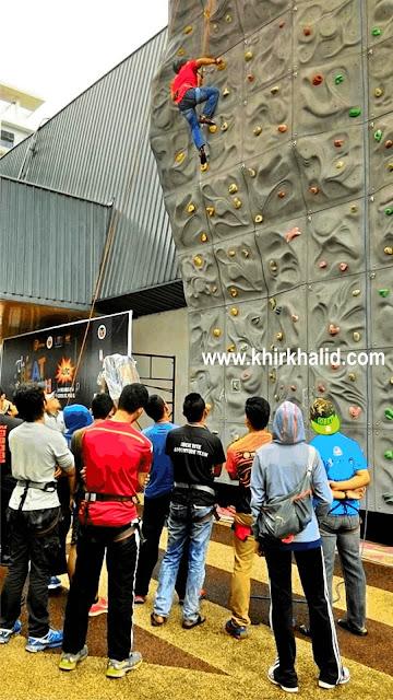 Wall Climbing The Beat Of Youth 4UTC, UTC Pudu Central, Kuala Lumpur