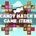 Free Sprite - 2D Game Assets (Candy)