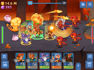 Semi Heroes Idle Battle RPG Mod Apk