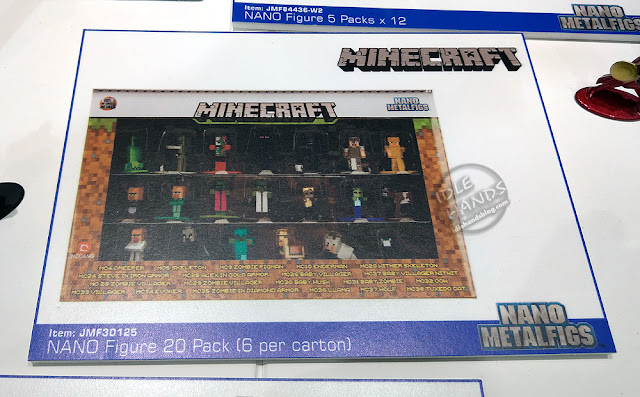 Toy Fair 2019 JADA Minecraft Nano Metalfigs