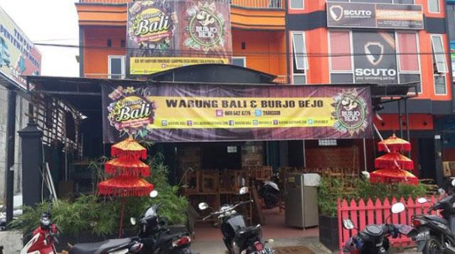 Warung Bali dan Burjo Bejo