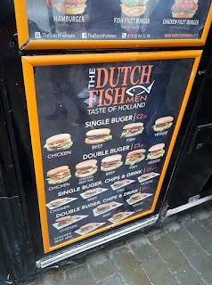 The Dutch Fish Men - Taste of Holland stall at Foodie Friday in Stockport