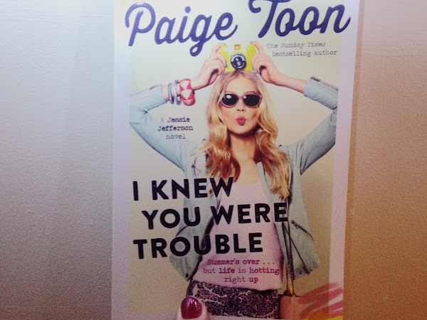 BOOK REVIEW - I KNEW YOU WERE TROUBLE BY PAIGE TOON