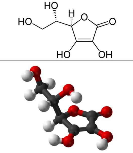 Rumus Kimia Asam Askorbat