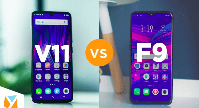Perbandingan Oppo F9 vs Vivo V11