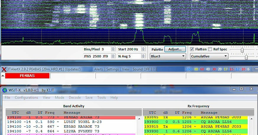 PE4BAS Amateur Radio Weblog: FT8 digimode