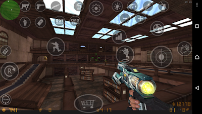 download dan Cara Mod Pasang Map dan Senjata di Counter Strike Android V1 Mod CSPB