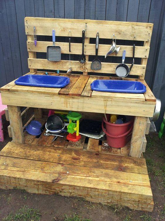 Ogrodowy Plac Zabaw DIY Dziecko I Zabawki