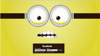 tema Minions (facebook)