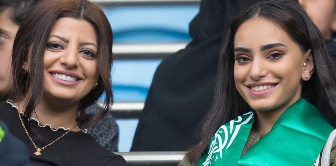 صور مشجعات السعودية 2018 اجمل صور بنات السعودية في كاس العالم