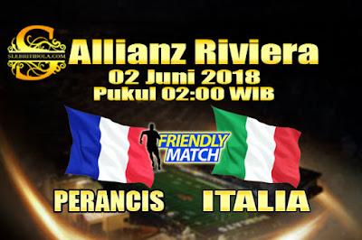 AGEN BOLA ONLINE TERBESAR - PREDIKSI SKOR PERSAHABATAN PERANCIS VS ITALIA 02 JUNI 2018