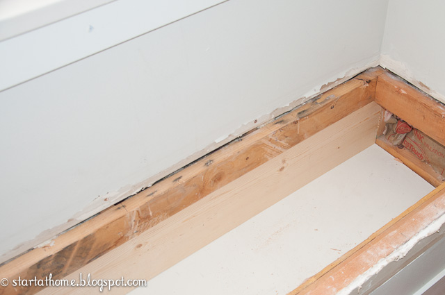 DIY Window Seat Storage | Start at Home Decor