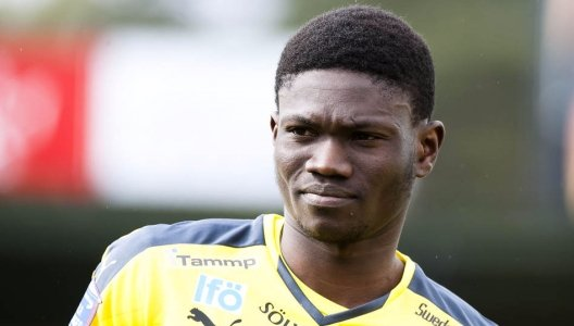 Ghanaian midfielder Kwame Bonsu jailed in Sweden for raping and assaulting wife