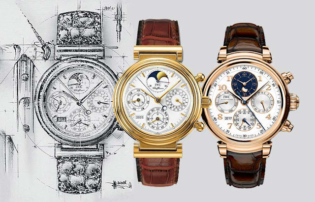 The IWC Da Vinci and the renaissance of the mechanical watch