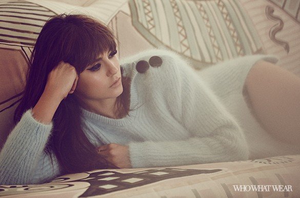 Nina Dobrev gets glam for WWD photoshoot