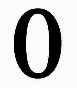 Afbeeldingsresultaat voor zero betekent nul