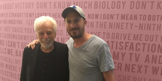 Darren Aronofsky sits down with Alejandro Jodorowsky on the Talkhouse Podcast